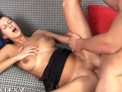 Fancy girl gets anal ready for sex