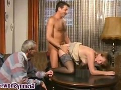 Granny Gets A Younger Cock