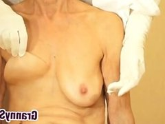 Playing With Grandmas Saggy Breasts