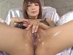 Riona Suzune amazes with her cock sucking sk