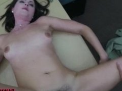 Sexy housewife banged by horny pawn man