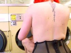Redhead stunner Jasmine James boned hard