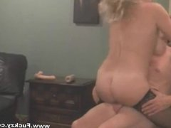 Busty Milf Hookup Squirts And Creampied
