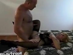 Granny Fucked By Her Husband