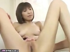Creampie For A Japanese MILF