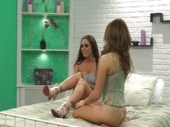 Lesbian Melissa Jacobs and Jenna Rose
