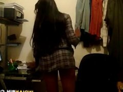 Indian Cutie Dancing At Home