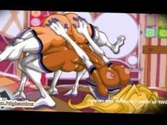 Ghetto shemale muscle anime slammed fucked