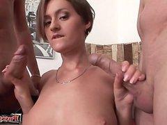 Cute pornstar büro sex