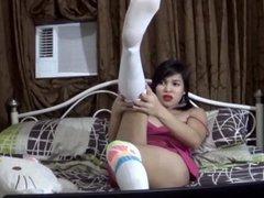 TS Filipina Tranny Live Sex Cam Show #1