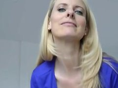 Blond milf POV from meet-milf(dot)com