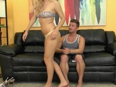 Natalia Starr Gets A Cock To Play With It