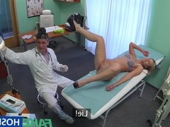 FakeHospital Blonde gets doctor's cock