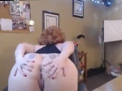 Hot Mature Redhead Huge Boobs Dildoing
