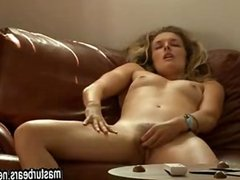 My deep loud orgasm on the couch