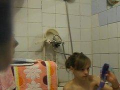 Chica en la ducha 6