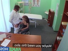 FakeHospital Doctors cock drains sexy student