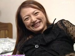 Mao sucks dong and pees after getting sex toy