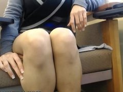 No panty secretary lives sex cam in free time