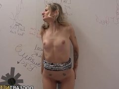Natasha Starr's Interracial Sex At Gloryhole