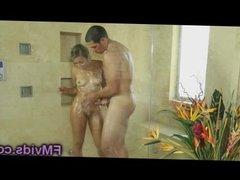 Sophia Torres nice shower