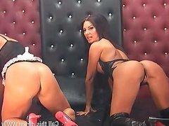 Faye Rampton & Elicia Solis 28-4-15