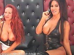 Faye Rampton & Elicia Solis 28-4-15 2