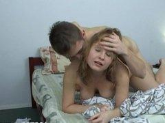 Kinky teen likeshard rear bang