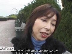 Public nudity of real Japanese wife Subtitled