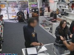 Girls pussies got slammed with cops big cock