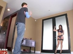 Teal Conrad busted stepmom India Summer