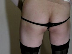crossdresser change erotic panties