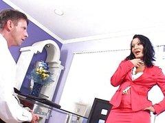 Sandra is a firm but fair boss