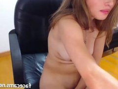 Hot Teen With A Huge Dildo In Her Wet Pussy