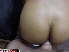 Thug wannabe sucks my big cock and fucked up