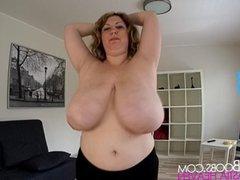 Running with big boobs