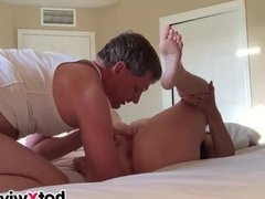 Hot wife gets fucked and creampied
