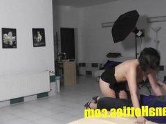 Sexy striptease and nice fuck by 19yo czech b