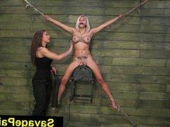 FetishNetwork Marsha May lezdom bondage