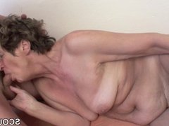 82yr old German Granny assfucked by 18yr old