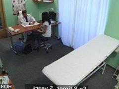 Doctor fucks his new patient