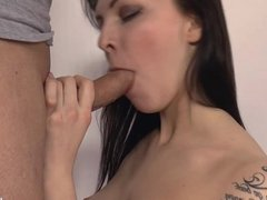 Big dick sex for girl with tight pussy