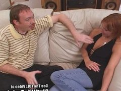 Freckly Red Head Wife Screwed by 2 Pricks!