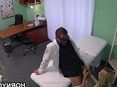 Promotion girl banged in hospital