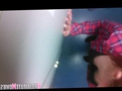 Fast sex with redhead in the locker room