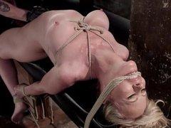 Blonde MILF Masochist Bondage