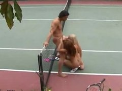 Tennis And Threesome