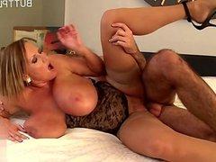 Hot girlfriend brutal anal orgasm