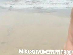 Voyeur Cam infiltrated in a nudist beach