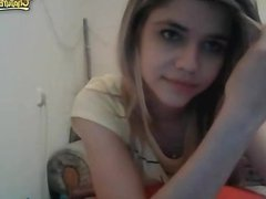 Sweet teen naked webcam